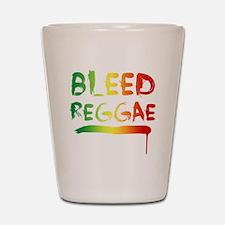 bleedreggae DARK Shot Glass