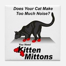 KittenMittons Tile Coaster
