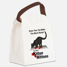 KittenMittons Canvas Lunch Bag