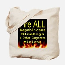 Fire ALL Republicans tshirt Tote Bag