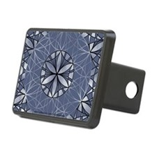 Flower of Life_Blue_6x4_ca Hitch Cover