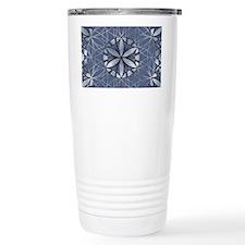 Flower of Life_Blue_6x4_card Travel Mug