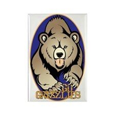 Grizzlies Rectangle Magnet