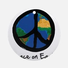 peace_on_earth Round Ornament