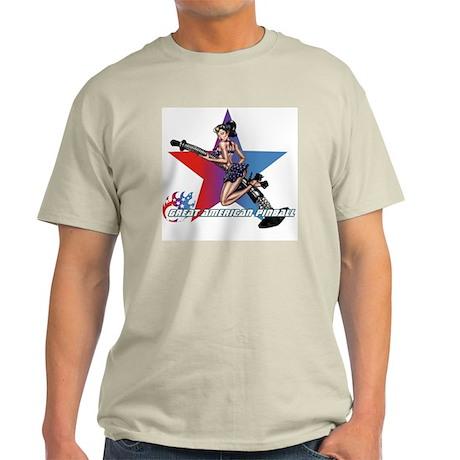 gap_girl_star_with_logo Light T-Shirt