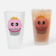 cupcake princess Drinking Glass