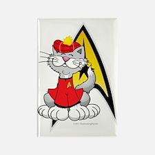 Star-Trek-Scotty-Cat Rectangle Magnet