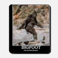 bigfoot-big-foot-hide-and-seek-demotivat Mousepad