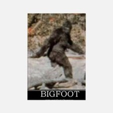 bigfoot-big-foot-hide-and-seek-de Rectangle Magnet