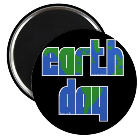 Earth Day (2) Magnet