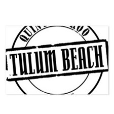Tulum Beach Title W Postcards (Package of 8)