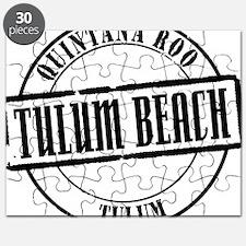 Tulum Beach Title W Puzzle