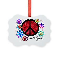 Imagine Peace Ornament