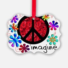 Imagine Peace Ornament