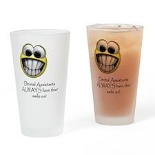 SmileOnLight Drinking Glass