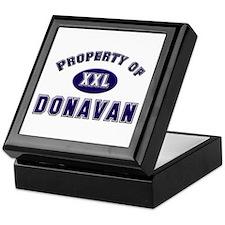 Property of donavan Keepsake Box