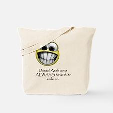 SmileOnLight Tote Bag