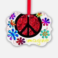 imagine peace darks 2011 Ornament