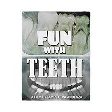 Fun With Teeth Twin Duvet