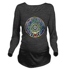 Earth Blessing Manda Long Sleeve Maternity T-Shirt