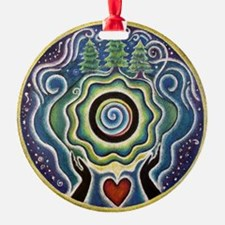 Earth Blessing Mandala Ornament