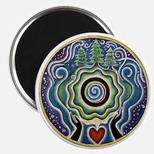 Earth Blessing Mandala Magnet