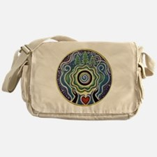 Earth Blessing Mandala Messenger Bag