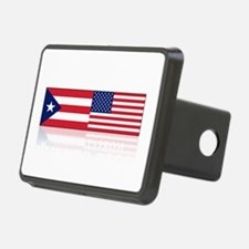 made in puerto rico(blk) Hitch Cover
