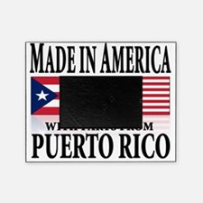made in puerto rico Picture Frame