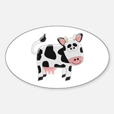 Black And White Cow Decal
