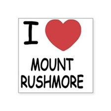 "MOUNT_RUSHMORE Square Sticker 3"" x 3"""