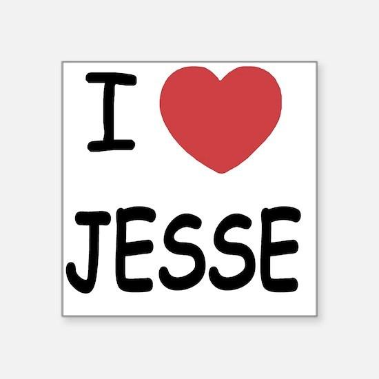 """JESSE Square Sticker 3"""" x 3"""""""
