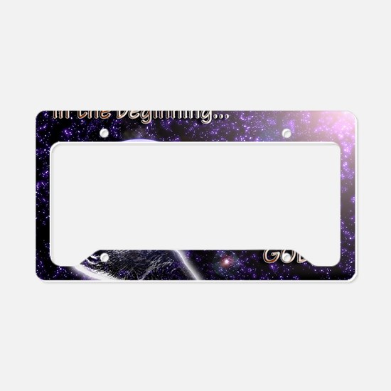 Inthebeginning License Plate Holder