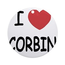 CORBIN Round Ornament