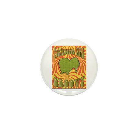 Groovy Pekingese Mini Button