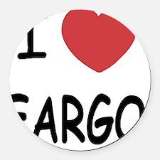 FARGO Round Car Magnet