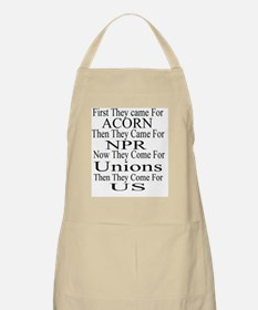 First They Came For Apron