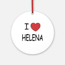 HELENA Round Ornament