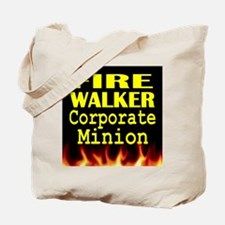 Fire Walker Corporate Minion Tote Bag