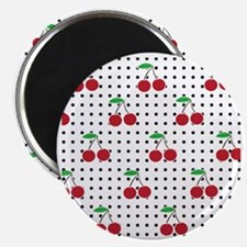 cherry square Magnet