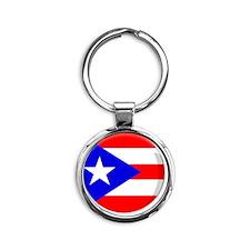 puertorico Round Keychain
