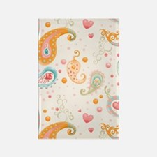 441 Paisley Rectangle Magnet