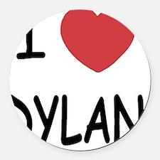 DYLAN Round Car Magnet