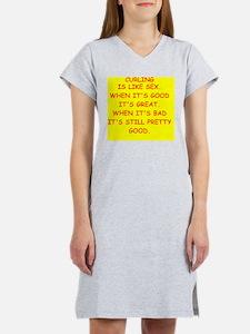 CURLING Women's Nightshirt