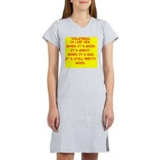 VOLLEYball Women's Nightshirt