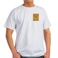 Groovy Poodle Ash Grey T-Shirt