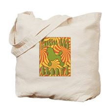 Groovy Poodle Tote Bag