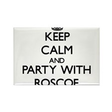 Keep Calm and Party with Roscoe Magnets