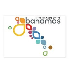 Bahamas Logo Postcards (Package of 8)