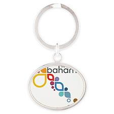 Bahamas Logo Oval Keychain